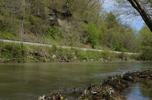 Clover Fork of the Cumberland River, Brookside, Kentucky.