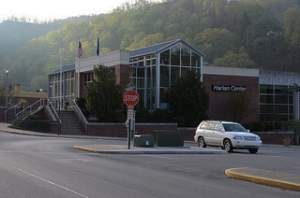 The Harlan Convention Center, site of the Appalachia's Bright Future Conference.
