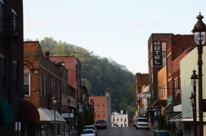 Main Street, Harlan Kentucky.