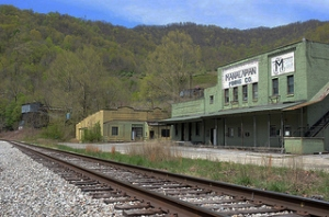 Mine office, Brookside, Kentucky.