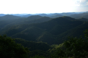 Appalachian Mountains.