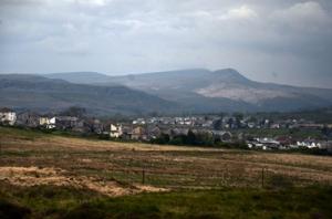 Banwen, South Wales in May 2012.