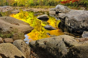 Autumn Reflections in Williams River - Monongahela National Forest, WV (c) Jim Clark www.jimclarkphoto.com